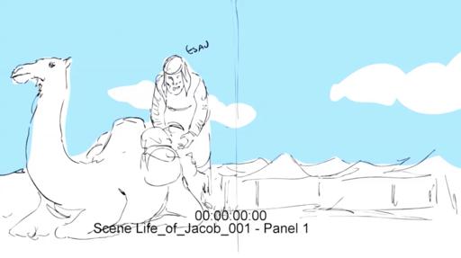 Animatic iBIBLE image of the life of Jacob