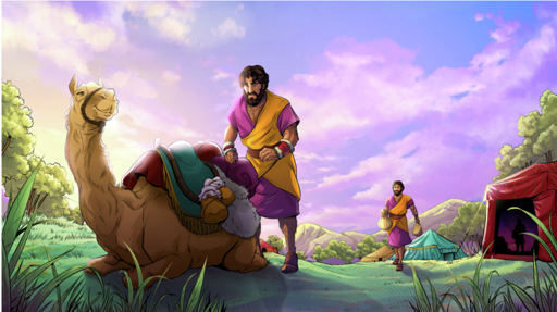 Final color iBIBLE image of the life of Jacob