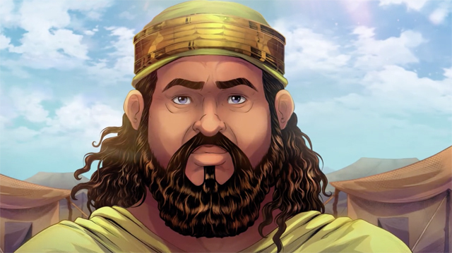 iBIBLE image of the King of Sodom