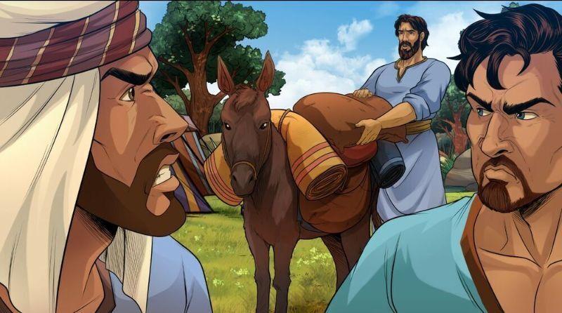 Reuben tells his brothers not to kill Joseph