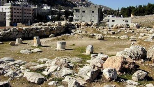 Ancient Shechem Temple