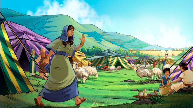 Dinah goes to visit the women of the land.