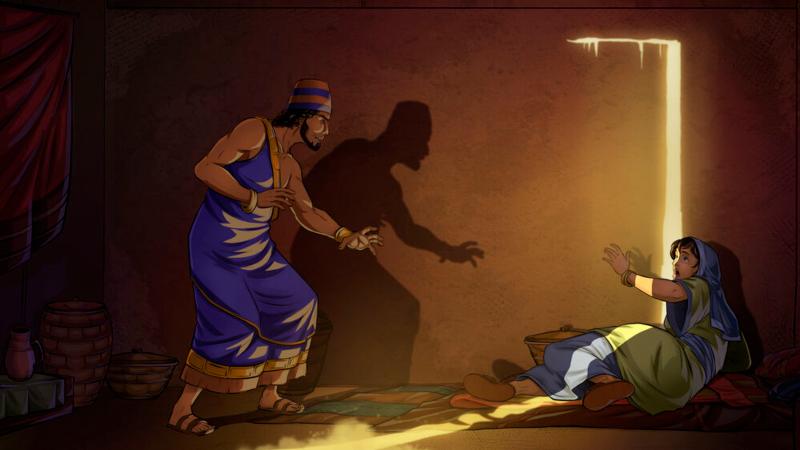 Shechem seizes Dinah