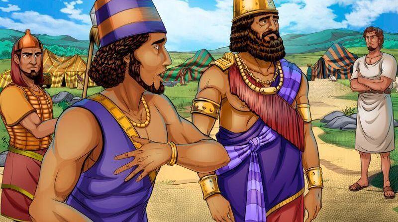 Shechem pleads his case