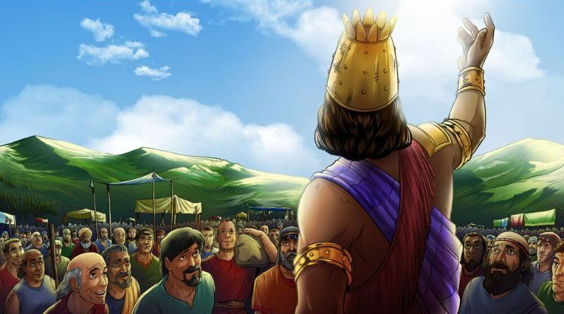 Shechem addresses the citizens