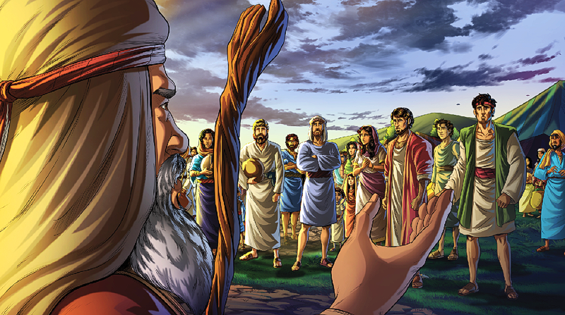 Jacob tells the tribe to purify themselves