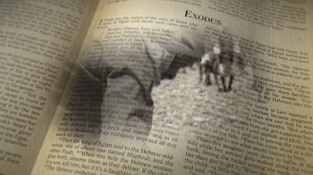 Book of Exodus begins with the people of israel