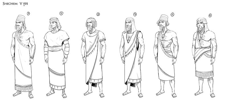 Shechem sketches