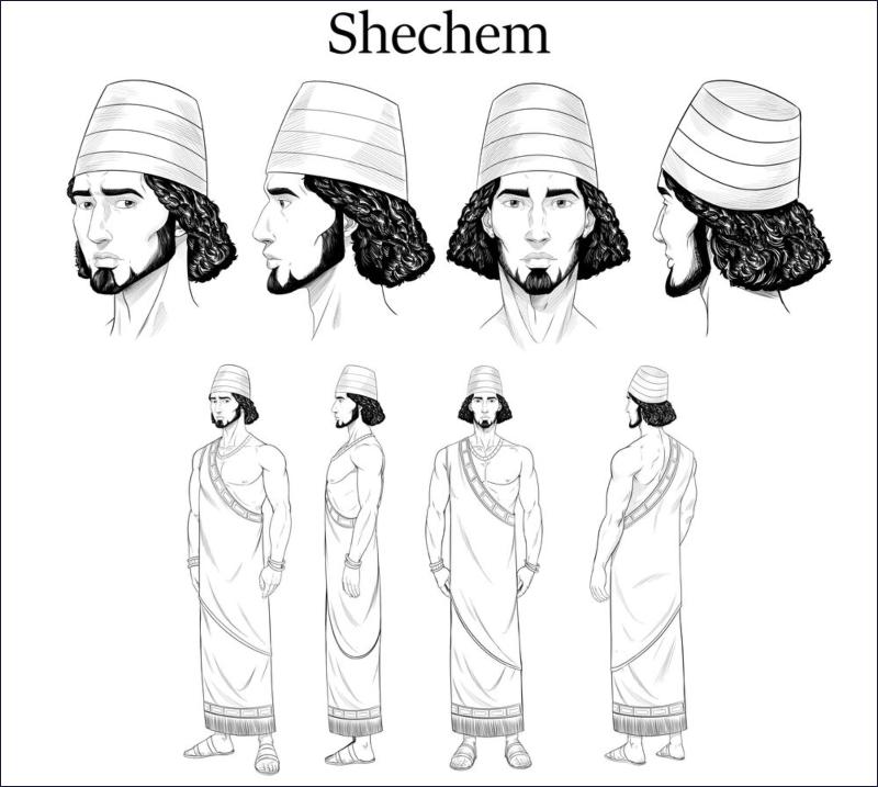 Shechem sketches2.