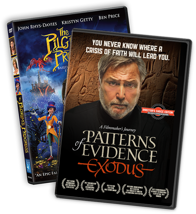 Patterns of Evidence: Exodus and The Pilgrim's Progress DVDs