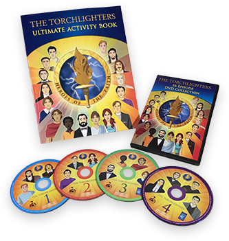 Torchlighters Book and DVDs